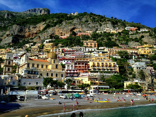 View from the Beach, Positano