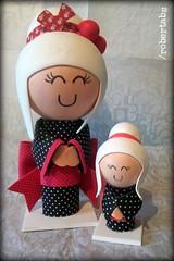 Kokeshis big e mini (.:Cu de Confeti:. por Roberta Santos) Tags: toy eva doll handmade artesanato kimono boneca kokeshi decorao japonesa foamy presente lao enfeite chinesa gueixa po feitoamo