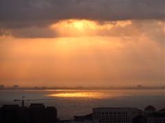 The sun 074 (oznasia) Tags: light sea sun water sunshine sunrise lumix haze asia southeastasia ray panasonic malaysia rays penang johnstory js63 oznasia tz10