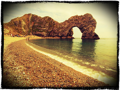 "Durdle Door • <a style=""font-size:0.8em;"" href=""http://www.flickr.com/photos/44919156@N00/7403583032/"" target=""_blank"">View on Flickr</a>"