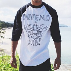"A closer look into our #DefendHawaii ""TIKI STRIPES"" design apart of our DH SPRING '14 SEASON DELIVERY 1 sold exclusively online @ defendhawaii.com & at all @tandcsurf shops across the island of Oahu! #supportlocal • <a style=""font-size:0.8em;"" href=""http://www.flickr.com/photos/89357024@N05/13316423013/"" target=""_blank"">View on Flickr</a>"