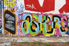 GATS  OSKER (DOGLOST) Tags: urban art graffiti oakland urbanart spraypaint eastbay aerosolart osker gats oaklandgraffiti