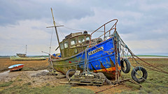 Seagull. (Sunderland Point) (james perkins.) Tags: boats tripod lancashire filters hdr sigma1020mm sunderlandpoint canon650d photoshopelements11