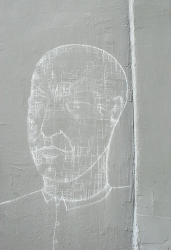Wall drawing by Matt Tieu [Paris 3e]