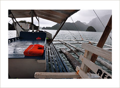 Rainy days in July (pickled_newt) Tags: boat southeastasia philippines islandhopping busuangaislands