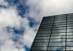 Reflect (Ben De La Rosa) Tags: blue sky reflection glass clouds silver 1 nikon skies filter pro understanding circular hoya pl enlightnment d3300