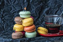 Macarons (sairacaz) Tags: macro coffee caf colors canon miniatures colores galicia vigo galletas miniaturas eos70d tamronaf90mmf28spdimacro