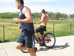 IMG_0456 (FOTOSinDC) Tags: shirtless man hot bike candid handsome biker shorts