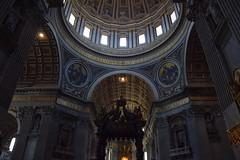 Basilica di San Pietro in Vaticano, estate 2015 (martinatrotta) Tags: vatican photo nikon basilica cupola sanpietro bernini barocco baldacchino borromini