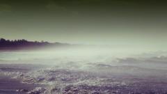Bruma (jantoniojess) Tags: sea portugal fog mar waves playa algarve olas niebla bruma montegordo paisajemarino brumaenlaplaya