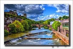 River Wear, Durham (Fermat48) Tags: england castle clouds durham cathedral riverwear northeast hdr codurham framwellgatebridge