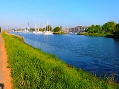 Segelhafen von Greifswald (Sophia-Fatima) Tags: deutschland sailing harbour hafen greifswald mecklenburgvorpommern ryck segelhafen