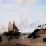 IMG_1742 Joseph Mallord William Turner. 1775-1851.  Londres. River Scene with Cattle. Scène de rivière avec troupeau de bovins. vers 1810.    Londres Tate Britain. thumbnail
