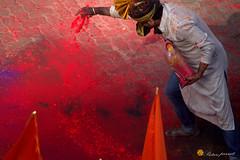 Rangoli master (PicturePursuit) Tags: rangoli colours masterstroke artistic dhwaj pathak girgaon gudipadwa