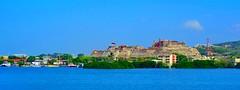 Castillo San Felipe de Barajas, Cartagena, Colombia (peggyhr) Tags: colombia unescoworldheritagesite fortress thecastle peggyhr castillosanfelipedebarajas level1photographyforrecreation super~sixbronzestage1 dsc08452a