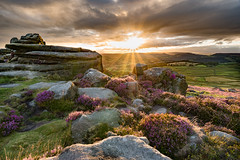 Owler Tor Sunset re-edit (TDG-77) Tags: sunset landscape hope countryside nikon heather district derbyshire peak valley d750 tor f3545g owler 1835mm