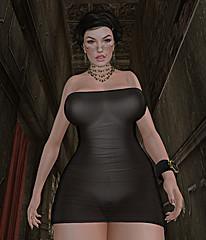 slight transparency (Alessandra Borgia) Tags: sexy naked nude breasts erotic tits boobs avatar sl secondlife belleza catwa meshbodyes