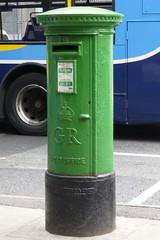 GR post box in Dublin 2. (piktaker) Tags: ireland post mail postoffice eire letterbox roi pillarbox republicofireland kinggeorgev anpost