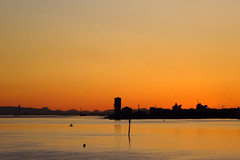 Sunset Over Rosyth Dockyard and the River Forth 20-04-2016 (The McCorristons) Tags: sunset forth queensferry riverforth dockyard rosyth rosythdockyard queensferrycrossing