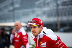 Sebastian Vettel - 2016 Canadian GP (garyhebding) Tags: canada ferrari german motorsport scuderiaferrari canadiangp sebastianvettel canonef70200mmf4lisusm canoneos5dmarkiii