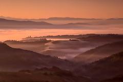 dawn (brucexxit) Tags: sunrise dawn alba viterbo lazio bagnoregio civitadibagnoregio tuscia altolazio