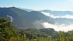 The Valley Below (diamonds_in_the_soles_of_her_shoes) Tags: sky clouds valley sagada teampilipinas