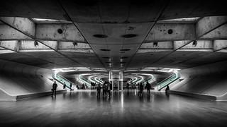 Gare do Oriente - New Train Station East Lisbon, Portugal