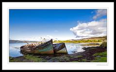 Salen Boats (GTMedia) Tags: old canon landscape scotland boat innerhebrides decay isleofmull rotten 16mm mull derelict salen tiltshift 1dx