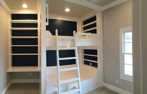 Bunk Beds & Desk Nook