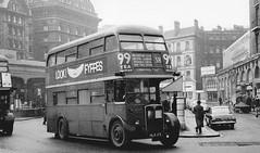 London transport RT356 on route 38 Victoria 1960's. (Ledlon89) Tags: bus london buses transport rt lt parkroyal londonbus londonbuses centrallondon weymann aec vintagebuses lte aecregent rtbus chiswickworks