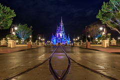 Road To The Castle (BBQMonster) Tags: park castle night stars nightlights florida clear d750 amusementpark waltdisneyworld themepark magickingdom mainstreetusa partlycloudy cinderellascastle leadinglines cinderellacastle disneycastle disneyafterdark waltdisneyworldmagickingdom 1424mmf28g capturingthemagic bbqmonster cinderellascastledisneyworld toddfburgess toddemonster nikonafsnikkor1424mmf28gedlens florida2016 nikond750 copyrightc2016toddfburgessallrightsreserved d75053721