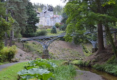 Bridge at Cragside House, Northumberland (Tony Worrall Foto) Tags: county uk bridge england house building home metal gardens architecture outside nice stream iron arch tour crossing open place cross photos country north arches visit location tourist historic east northumberland valley area gorge items northern update northeast built attraction stately atcragsidehouseandgardens