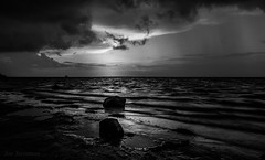 The Light in the Storm (JDS Fine Art & Fashion Photography) Tags: light sunset inspiration storm beach inspirational spiritual stormatsea