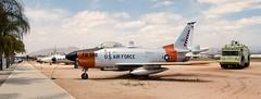 North American F-86L Sabre (rjl6955) Tags: california ca march riverside sabre arb northamerican f86d marchfieldairmuseum f86l airreservebase af500560
