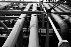 beaubourg (renoleon) Tags: blackandwhite bw paris museum 35mm nikon noiretblanc muse structure nb pompidou beaubourg centregeorgespompidou tuyau tuyaux d90