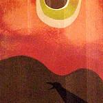 "<b>Black Raven</b><br/> Claus Hoie ""Black Raven"" Watercolor, 1980 LFAC #305 <a href=""http://farm8.static.flickr.com/7102/6900002670_578e5b591f_o.jpg"" title=""High res"">∝</a>"