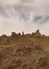 The Ancient City of Germa, Libya (Eric Lafforgue) Tags: africa cloud sahara vertical outdoors desert mud northafrica nobody nopeople palmtree ghosttown libya libia libye libyen germa fezzan hatia garamantes garama colorpicture líbia italiancolony libië libiya リビア ribia liviya libija colourpicture либия לוב 리비아 ливия լիբիա ลิเบีย lībija либија lìbǐyà 利比亞利比亚 libja líbya liibüa livýi λιβύη a0014080