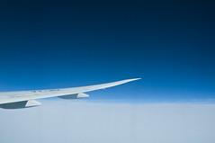 heaven and earth (fazlemuniem) Tags: flight blueskies jetplane aerialphotograph 33000feet jetairways longdistanceflight 10000m boeing777300er westernasia highaltitudeflight highaltitudephotograph