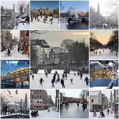Amsterdam in the winter (Bn) Tags: fdsflickrtoys amsterdam winter best photos canals jordaan keizersgracht prinsengracht westertoren oude wester westerchurch cold ice skating mokum sledge sled seagull bike bikes rijksmuseum holland netherlands ben quality finest sunset hockey grachten faves prachtig mooi goed greatest mosaic collage collection amazing stunning brilliant good ijskoud nostalgic ijspret natuurijs magic centre dutch promotion showcase city life enjoy pleasure season wonderful mooiste beste mozak 50faves topf50