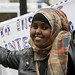 Somali Protestors in Whitehall