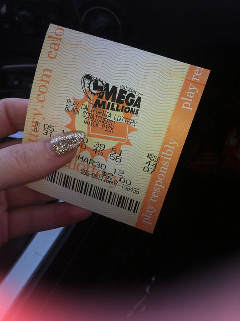 My first lottery ticket!!!!  I think Im going to win!!!