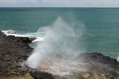 Spouting Horn 6 (Journey of A Thousand Miles) Tags: seascape hawaii kauai 2012 poipubeachpark