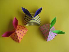 Bunny Rabbit Candy Box (L. Torres) (esli24) Tags: origami easterbunny eater papierfalten leylatorres origamibunny origamispirit esli24 ilsez