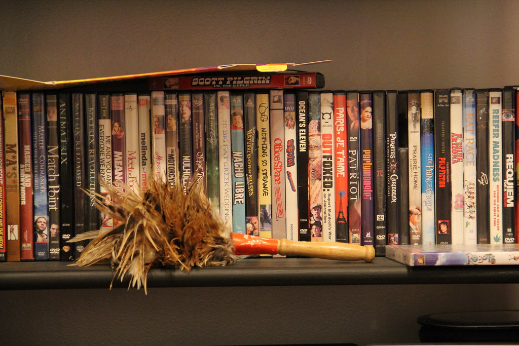 DVD shelf by MattHurst, on Flickr