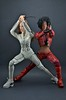 Misty Knight and Colleen Wing Custom Figures (edwick) Tags: otaku katana marvel tracksuit leatherjacket deserteagle samuraisword 16scale mistyknight triadtoys colleenwing harleychic daughtersofthedragon phicen