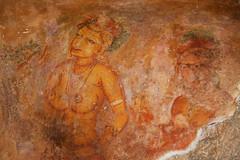 壁画 fresco (Poorfish) Tags: mural srilanka ceylon fresco lionrock sigiriya 壁画 斯里兰卡 狮子岩 锡兰
