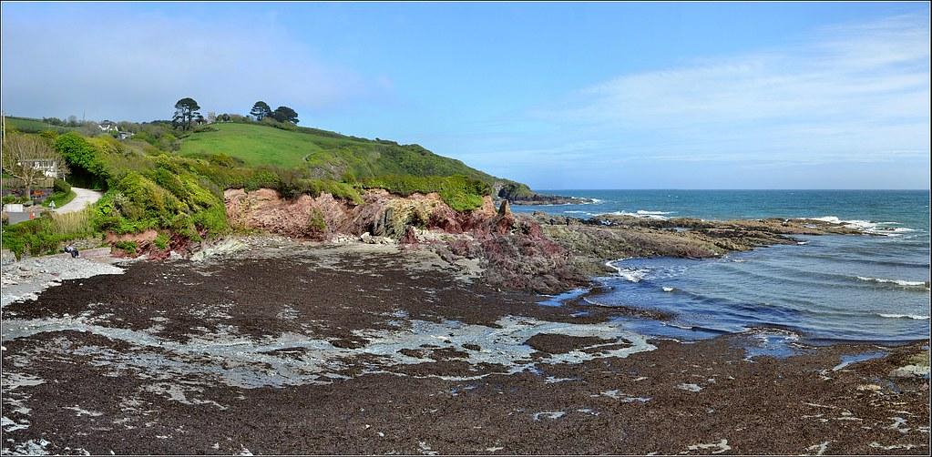 Talland Bay Panorama 3. Nikon D3100. DSC_0613