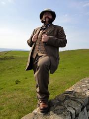 Llandudno Victorian Extravaganza (Mycroft Milverton) Tags: pipe smoking smoker pipesmoker pipeman