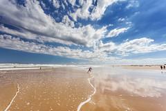 Stockton sands (Luke Tscharke) Tags: summer sun child play wide australia running nsw portstephens annabay stocktonbeach 5d3 5dmarkiii