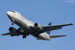 Lufthansa Boeing 737-330 D-ABXO HAM 05.06.2012 (J.-J. Bartz) Tags: june juni airport hamburg ham boeing flughafen lufthansa eddh 2012 737330 dabxo 05062012